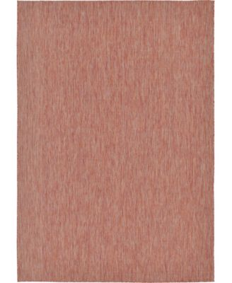 Pashio Pas6 Rust Red 9' x 12' Area Rug