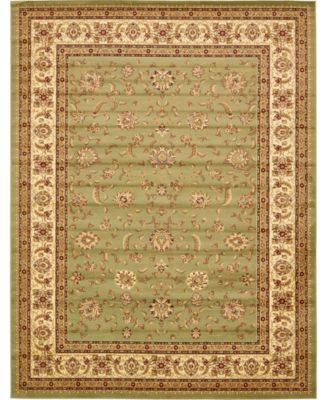 Passage Psg4 Green 5' x 8' Area Rug