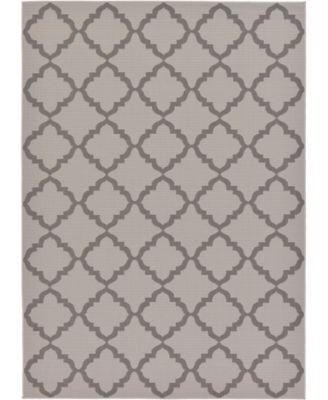 Pashio Pas5 Gray 6' x 9' Area Rug