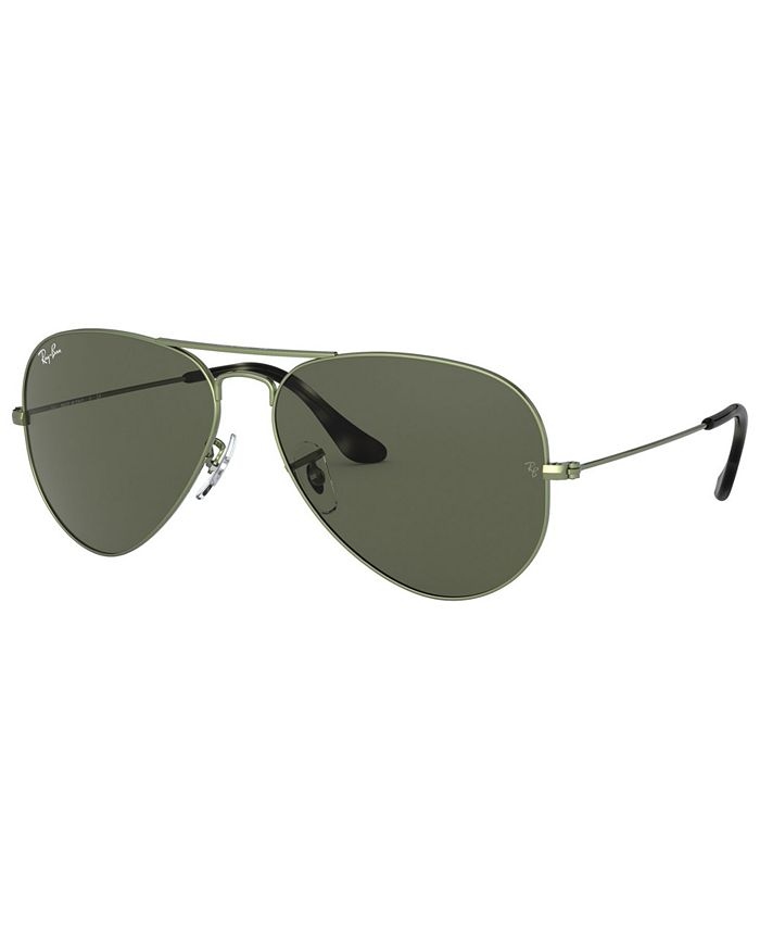 Ray-Ban - AVIATOR LARGE METAL Sunglasses, RB3025 62