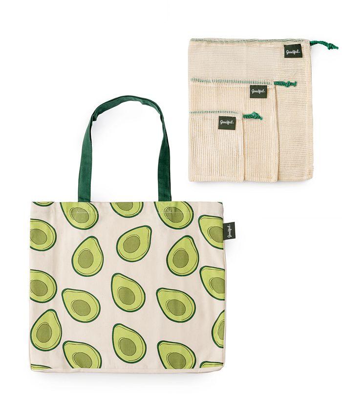 Goodful - Farmer's Market Reusable Bags, Set of 4