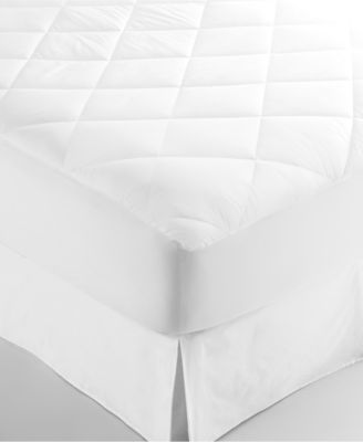 CLOSEOUT! Martha Stewart Collection Allergy Wise King Mattress Pad, Only at Macy's