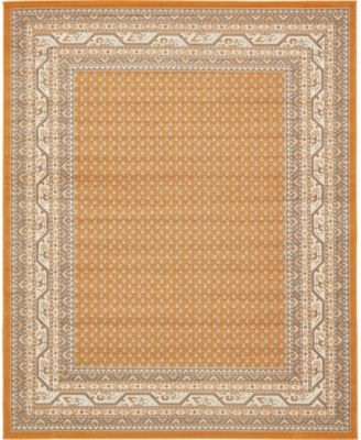 Axbridge Axb1 Orange 10' x 13' Area Rug