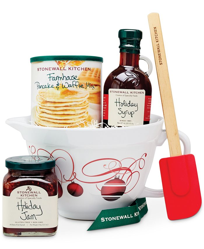 Stonewall Kitchen Pancake Batter Bowl Gift Set Created For Macy S Reviews Food Gourmet Gifts Dining Macy S