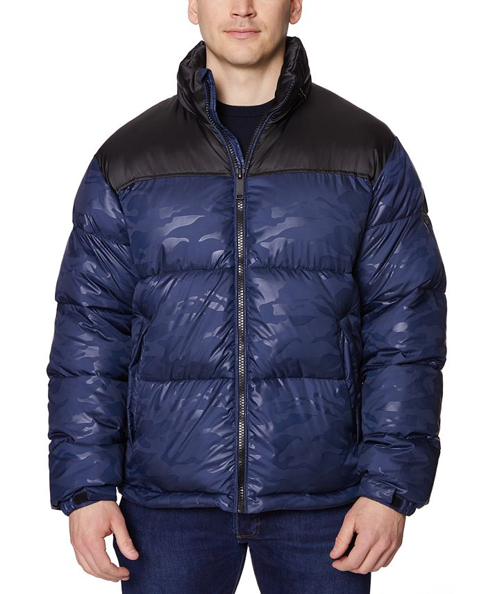 Halifax - Men's Colorblocked Puffer Jacket