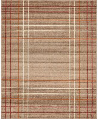 Jasia Jas13 Light Brown 9' x 12' Area Rug