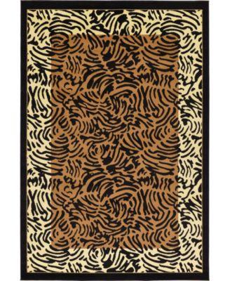 Maasai Mss7 Light Brown 9' x 12' Area Rug