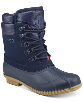 Muddy Cold-Weather Boots