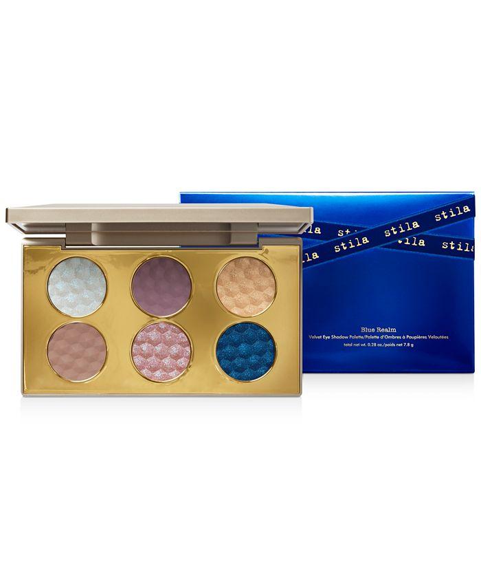 Stila - Blue Realm Velvet Eye Shadow Palette
