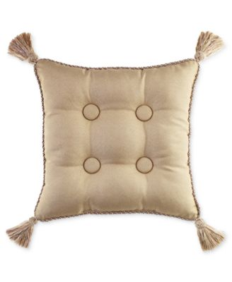 "Croscill Ava 16"" Square Decorative Pillow Bedding"