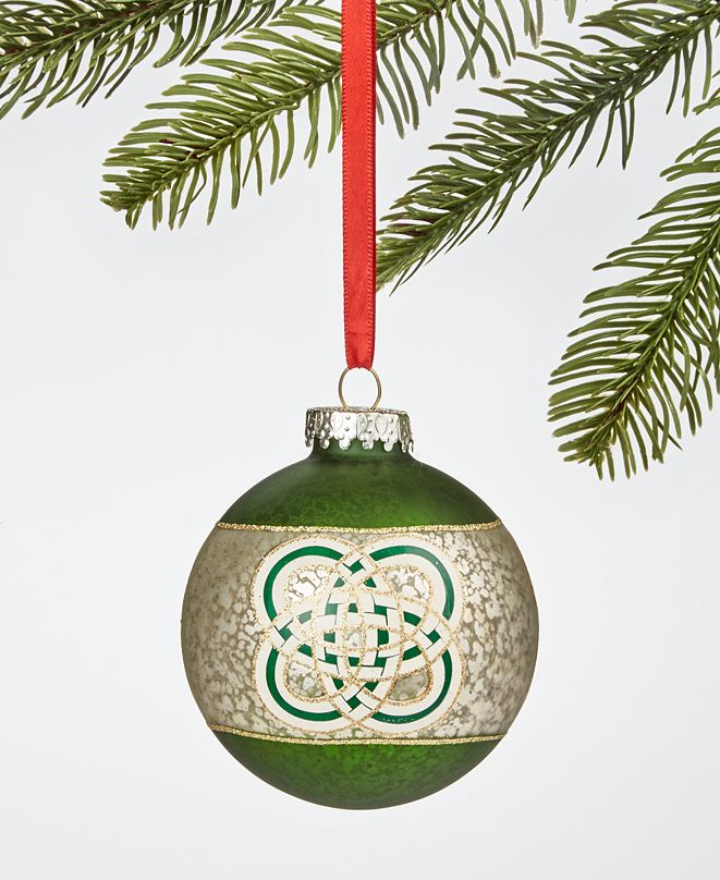 Holiday Lane Irish Celtic Knot Ornament, Created for Macy's