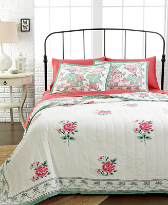 closeout pavali quilts quilts bedspreads bed bath macy 39 s. Black Bedroom Furniture Sets. Home Design Ideas