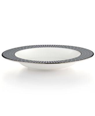kate spade new york Mercer Drive Platinum Rim Soup Bowl
