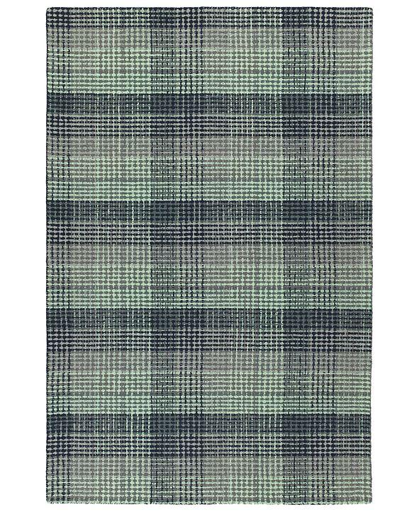 Kaleen Sartorial SAT03-78 Turquoise 8' x 10' Area Rug