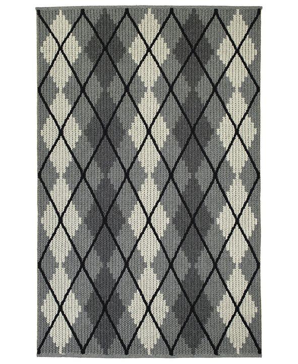 Kaleen Paracas PRC01-68 Graphite 8' x 10' Area Rug