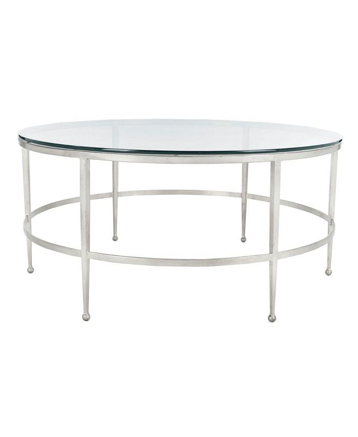 Safavieh - Edmund Round Cocktail Table