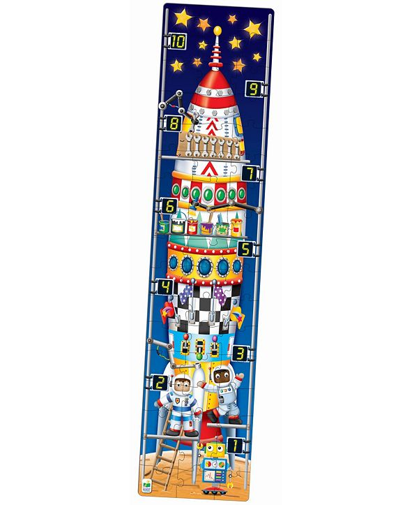 The Learning Journey Long and Tall Puzzles- 123 Rocket Ship