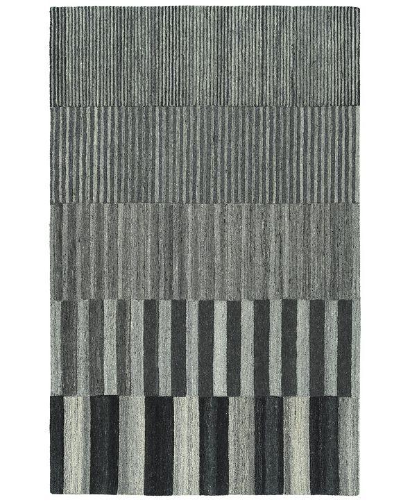Kaleen Alzada ALZ01-38 Charcoal 8' x 10' Area Rug