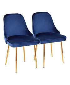 Marcel Dining Chairs, Set of 2