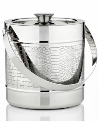 CLOSEOUT! Godinger Barware, Croco Ice Bucket