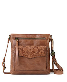 The Sak Ventura Flap Leather Crossbody