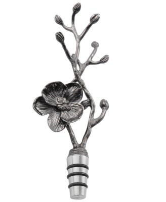 Michael Aram Black Orchid Bottle Stopper