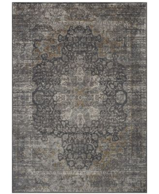 Tryst Dorset Anthracite 2' x 3' Area Rug