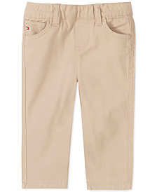 Tommy Hilfiger Baby Boys Stretch Twill Pants
