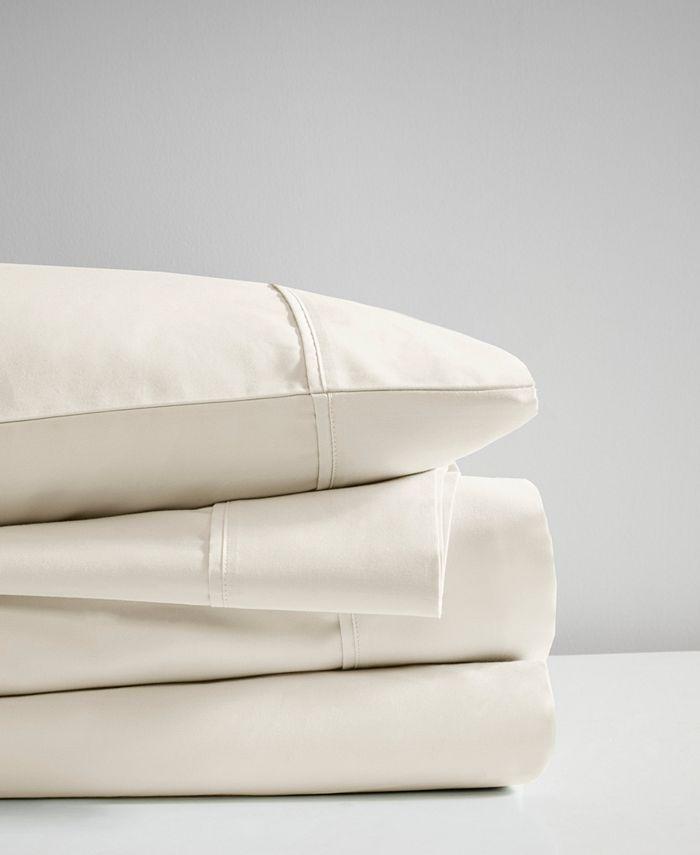 Beautyrest - 600 Thread Count 4 Piece Cooling Cotton Rich Sheet set