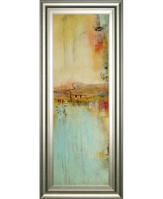 "Eastside Story II by Erin Ashley Framed Print Wall Art - 18"" x 42"""