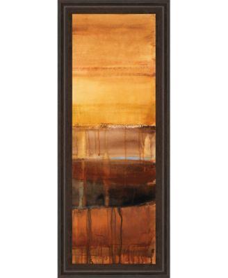 """Autumn Glows Il by Lanie Loreth Framed Print Wall Art - 18"""" x 42"""""""