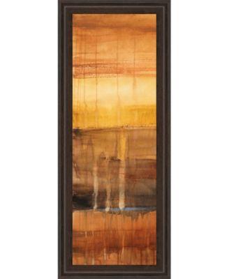 """Autumn Glows I by Lanie Loreth Framed Print Wall Art - 18"""" x 42"""""""