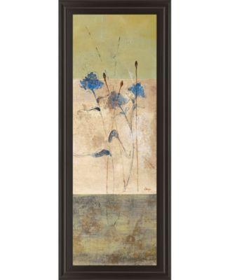 """Kimono Il by Loretta Linza Framed Print Wall Art - 18"""" x 42"""""""