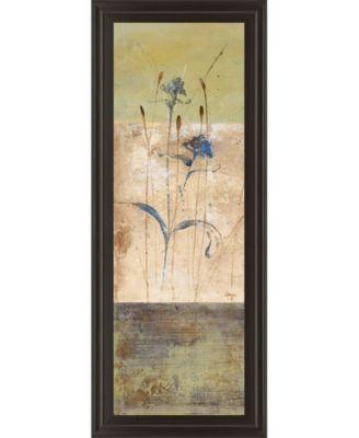 """Kimono I by Loretta Linza Framed Print Wall Art - 18"""" x 42"""""""