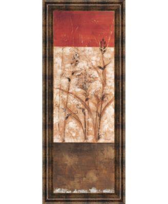 "Fresco Il by Loretta Linza Framed Print Wall Art - 18"" x 42"""
