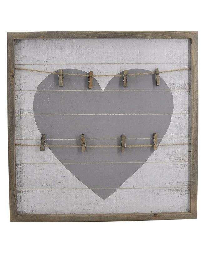 TX USA Corporation HeArt Shaped Wall Art with Clips