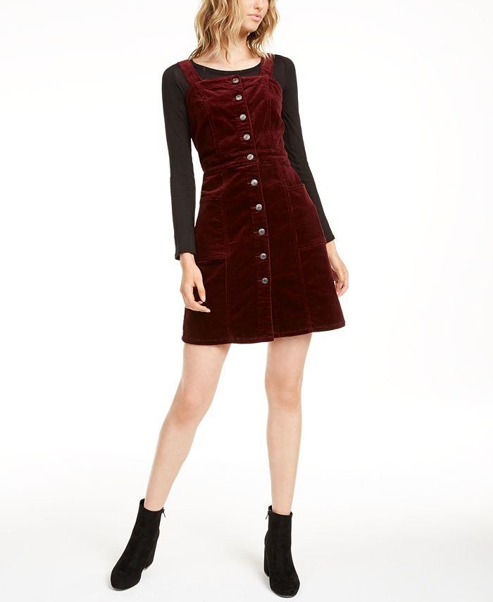 OAT - Corduroy Overall Dress