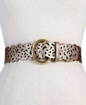 Steve Madden Belt Scattered Cutouts