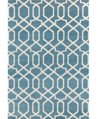 Alba Alb304 Blue 2' x 3' Area Rug