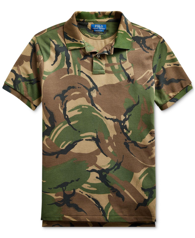 Polo Ralph Lauren Men's Short Sleeve Classic Fit Polo Shirt & Reviews - Polos - Men - Macy's