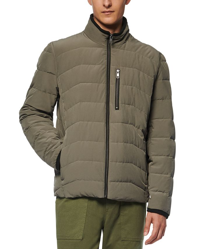 Marc New York - Men's Carlisle Stretch Packable Moto Jacket