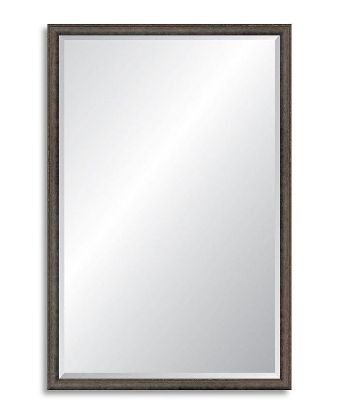 Reveal Frame & Décor - Foundry Steel Beveled Wall Mirror