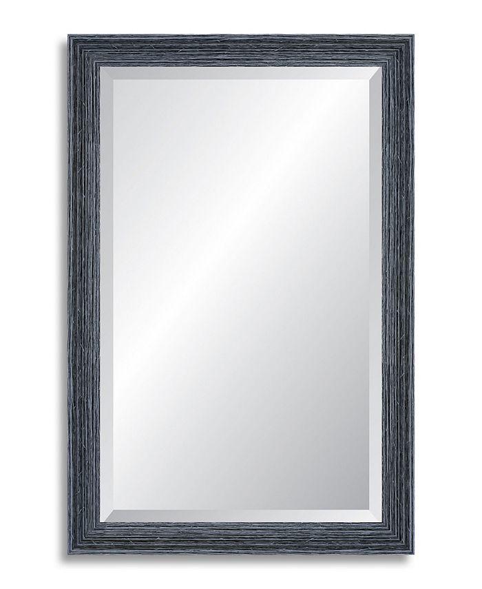 Reveal Frame & Décor - Peppercorn Black Beveled Wall Mirror