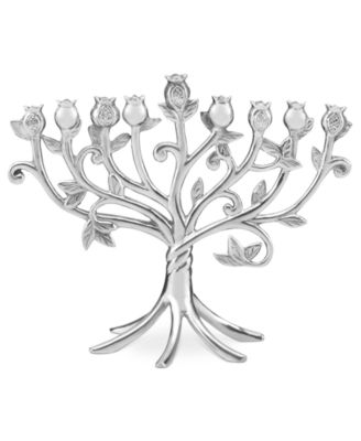 Lenox Judaica, Blessings Metal Menorah