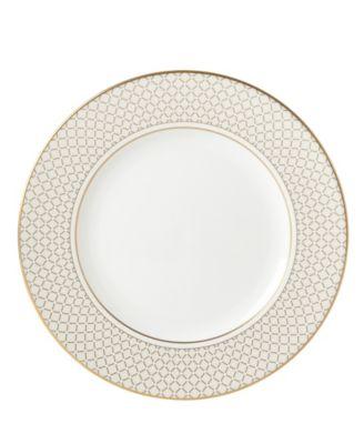Venetian Lace Gold Dinner Plate