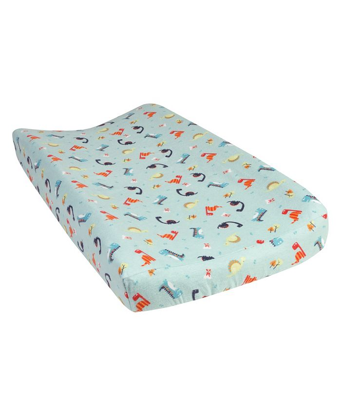 Trend Lab - Dinosaurs Flannel Changing Pad Cover