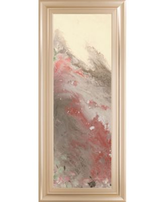 """Sang Froid I by Dlynn Roll Framed Print Wall Art, 18"""" x 42"""""""