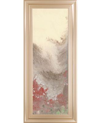 """Sang Froid II by Dlynn Roll Framed Print Wall Art, 18"""" x 42"""""""