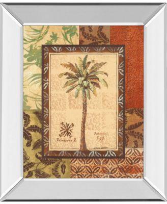 "Palmaceae II by Gregory Gorham Mirror Framed Print Wall Art, 22"" x 26"""