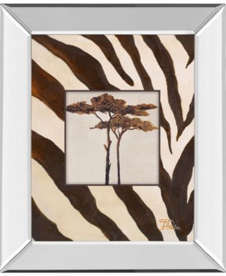 """Contemporary Africa I by Patricia Pinto Mirror Framed Print Wall Art, 22"""" x 26"""""""